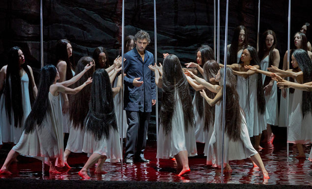 "Jonas Kaufmann as the title character of Wagner's ""Parsifal."" Photo: Ken Howard/Metropolitan Opera Taken during the rehearsal on February 8, 2013."