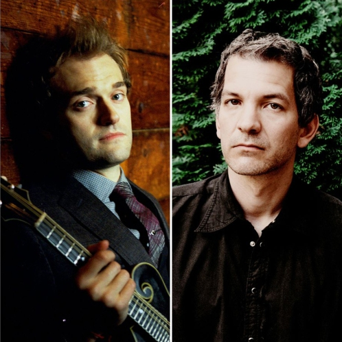 Singer/mandolin virtuoso Chris Thile and jazz pianist Brad Mehldau.