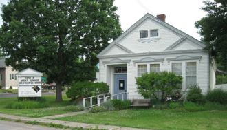 The intimate Ghent Playhouse is a local landmark.