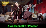 People by Alan Bennett, directed by Nicholas Hytner. With Frances de la Tour as Dorothy Stacpoole, Linda Bassett as Iris. Opens at The Lyttleton Theatre at The National Theatre on 7/11/12. CREDIT Geraint Lewis