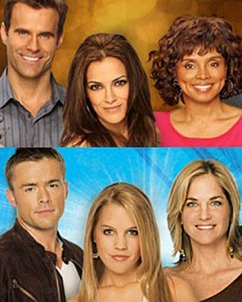 "Actually, it is soap operas that have been doing all the dying. The last of the dying breed: ""All My Children"" (top) and ""One Life To Live"" (bottom) have fallen prey to a cultural shift as ABC cancelled them."