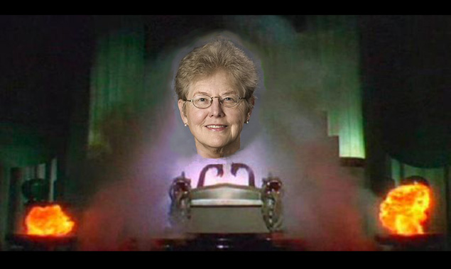 RPI's guest speaker on digital media  is N. Katherine Hayles. She is a bit of a prophet, though more wise and wonderful  than great and powerful.