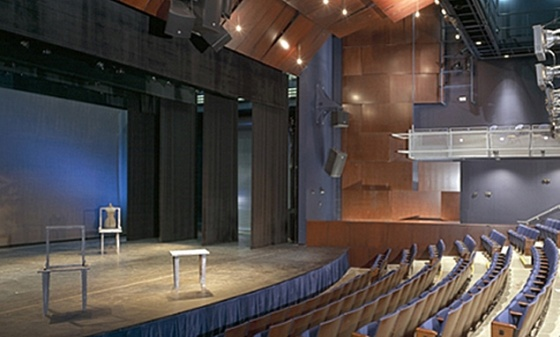 The Auditorium at the Daniel Arts Center of Bard College in Great Barrington will host three new summer theatrical residencies July 18-August 3, 2013. Mass Live Arts  is the presenter.