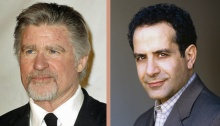 Treat Williams and Tony Shalhoub are two of the actors who will introduce new plays at the BPL Gala.