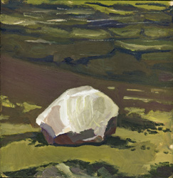 "The rock ""Observer"" by Henry Ekman Klein is my own small piece of his larger works.."