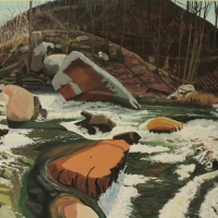 Berkshire Museum exhibits River Paintings by Henry Klein, perfect Berkshire moments caught on canvas