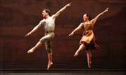 Francisco Graciano and Eran Bugge dance Paul Taylor's  Perpetual Spring; Photo by Paul B Goode.