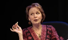 Kate Burton (seen here in WTF's 2008 Beyond Therapy) takes on the role of a spy chief. Photo: T. Charles Erickson.