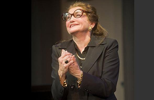 Annette Miller as Maria Callas. Photos by Kevin Sprague.