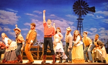 The cast of Oklahoma! Photo by Abby LePage.