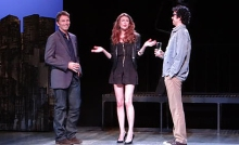 Tim Daly, Carolyn Holding, and Geoffrey Arend in The Scene at Dorset Theatre Festival.
