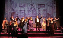 HHOT Stages fully staged opera at Hubbard Hall in Cambridge, NY..