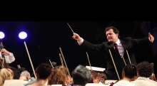 Andris Nelsons at Tanglwood July 27 to lead the BSO in Verdi's monumental Requiem.