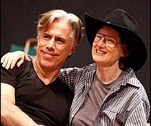 Jeff McCarthy (l) and Annette O'Toole will play the couple from Georgia in Southern Comfort the new musical at Barrington Stage.