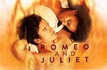 Broadway's Romeo and Juliet stars Orlando Bloom and Condola Rashad.