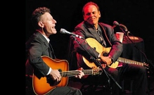 Lyle Lovett and John Hiatt take the COlonial Stage on October 23, 2013.