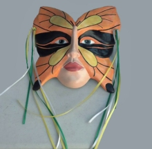 At Bisque, Beads & Beyond (141 North St) you can view a collection of ceramic theater masks by various artists including owner Donna Todd Rivers..