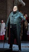 "George Gagnidze as Scarpia in a scene from Act I of Puccini's ""Tosca.""  Photo: Marty Sohl/Metropolitan Opera"