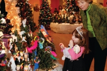 The joy of the holidays is best reflected in the eyes of children.