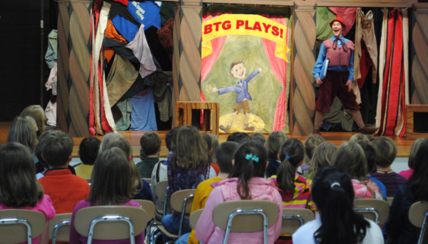 The Berkshire Theatre Group takes their shows and expertise to students in Western Massachusetts.