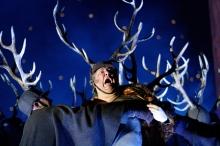 "Ambrogio Maestri in the title role of a Verdi's ""Falstaff.""  Royal Opera House Photo: Catherine Ashmore"