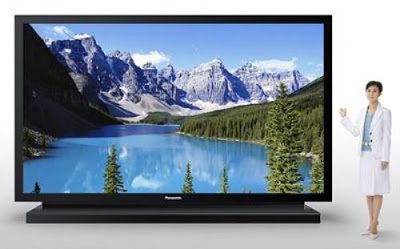 Stunning life sized tv.