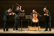 The Emerson String Quartet will open the season at Music Mountain. Photo by richard-termine.