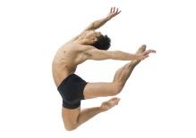 Li Jia-bo of The Hong Kong Ballet; photo Christopher Duggan.