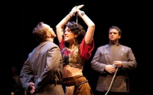 Kara Cornell has performed Carmen around the country, including her debut of the role in Brooke's version at Hubbard Hall in 2009.