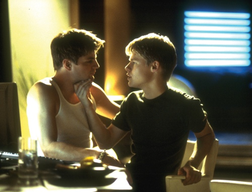 Gale Harold (l) and Ramdy Harrison in Queer as Folk.