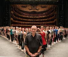 Portraits large and small are part of the Indise Out project. Here actor Robert DeNiro poses with the dancers of the New York City Ballet for an amazing portrait.