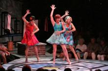 Musicals-in-the-round at the Mac-Haydn Theatre..