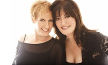 Jazz and cabaret fans know Ann Hampton Callaway for her rich alto, her impeccable taste in standards and her impressive songwriting skills. Ann's kid sister, soprano Liz, is better known among Broadway first-nighters.When they unite on stage it is musical magic,
