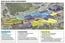 The expanded campus plans.