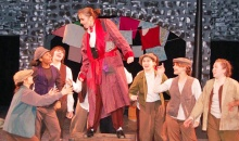 At Miss Hall's they chose Oliver as their musical.