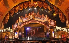 The Tonys at Radio City Music Hall, the largest theatre in New York City.