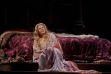 "Renée Fleming will be on stage at the Williamstown Theatre Festival this summer, and on screen as Desdemona in Verdi's ""Otello."" Photo: Ken Howard/Metropolitan Opera"