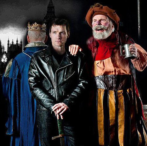 Henry IV. L-R: Reid White, Henry David Clarke and Malcolm Ingram. Casting subject to change. Photo by Kevin Sprague.