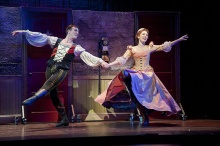 Kiss Me, Kate now playing at Barrington Stage. Photo by Kevin Sprague.