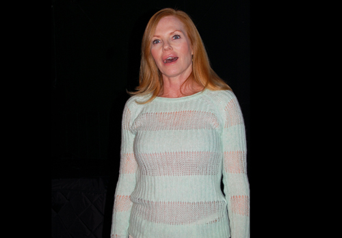 Helgenberger is in every single one of the show's 85 minutes. Murray photo.