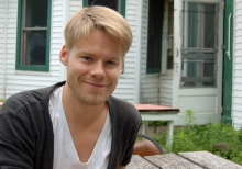 Randy Harrison in the Berkshires.