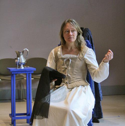 Shakespeare's Will stars Kristin Wold. Photo by Elizabeth Aspenlieder