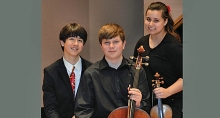 Trio Solaris will provide live accompaniment to the Trey McIntyre performance at Jacob's Pillow this summer.
