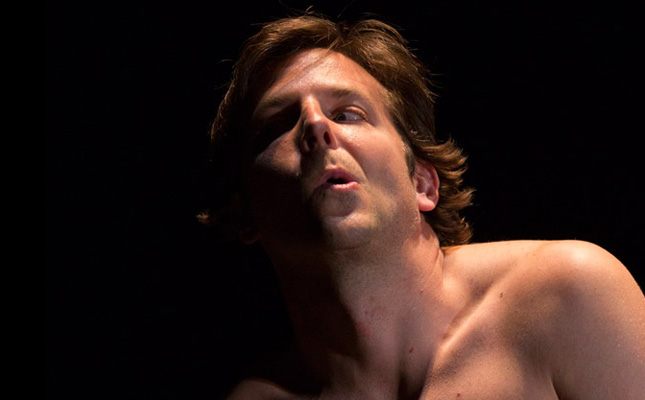 Bradley Cooper as David Merrick aka The Elephant Man.