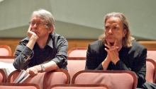 John Harbison, Michael Gandolfi  in a photo by Sheppard Ferguson.