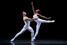 Taurean Green and Ingrid Silva of Dance Theatre of Harlem; photo Rachel Neville.