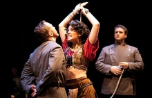 Kara Cornell has appeared in the title role of the opera Carmen.