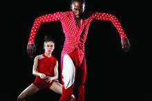 Reggie Wilson/Fist & Heel Performance Group; photo Julieta Cervantes.
