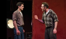 """""""Red"""" at the Dorset Theatre Festival starring Tim Daly and Charles Socarides. Photo by Taylor Crichton."""