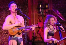 Nick Cearley and Lauren Molina comprise The Skivvies, and will share the stage with others on July 27-28 as they strip music down to its basics.